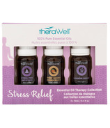 Therawell Essential Oil Blend 3 Pack Stress Relief