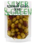 Silver & Green Whole Rosemary Garlic Olives