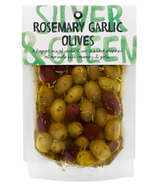 Silver & Green Whole Rosemary Garlic Olives