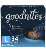 Paquet géant de couches culottes de nuit pour jeunes garçons de Huggies