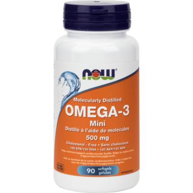 NOW Foods Omega-3 Mini Softgels