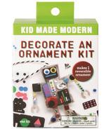 Kid Made Modern Decorate an Ornament Kit Robot
