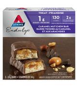Atkins Barres Endulge Caramel et noix - paquet de 5