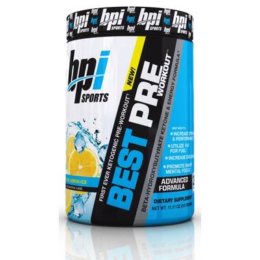 BPI Sports Best PRE Blue Lemon Ice