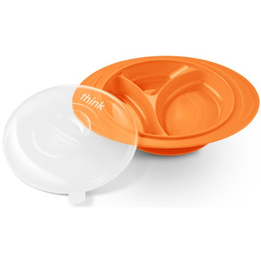 Thinkbaby Thinksaucer Suction Plate Orange