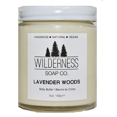 Wilderness Soap Co. Lavender Woods Body Butter