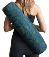 Samyoga Handmade Yoga Mat Bag Morris Blue & Green