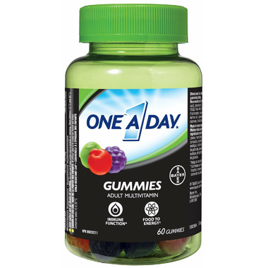One A Day Gummies Adult Multivitamin