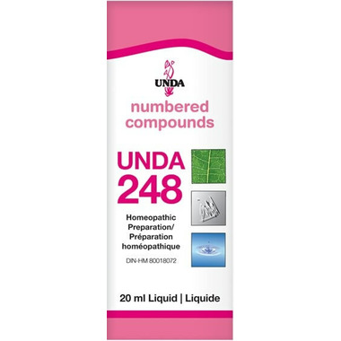 UNDA Numbered Compounds UNDA 248 Homeopathic Preparation