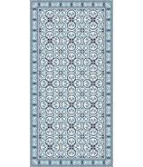 Adama Decorative Vinyl Rug Pinta Blue