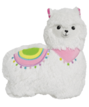 iScream Furry Llama Pillow