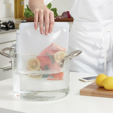 Stasher Reusable Sous Vide Bag Clear