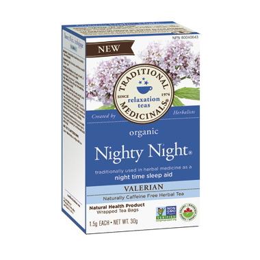 Traditional Medicinals Organic Nighty Night Valerian Tea