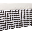 Lolli Living Bed Skirt Kayden Black Scallop