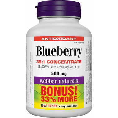 Webber Naturals Blueberry 36:1 Concentrate