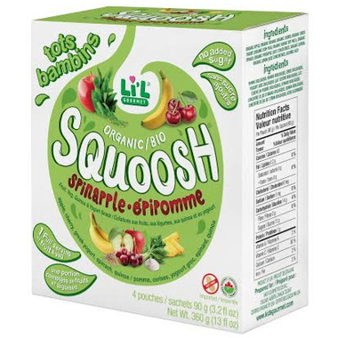 Li\'l Gourmet Squoosh Spinapple