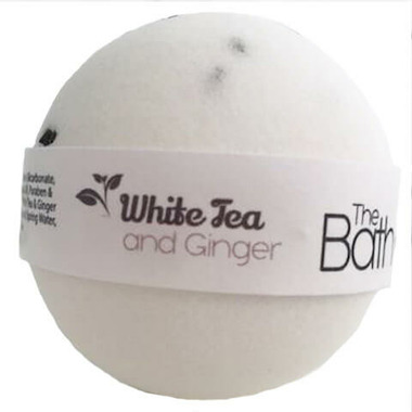The Bath Bomb Company White Tea And Ginger Bath Bomb