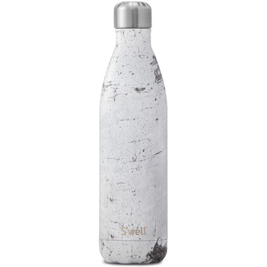 S\'well Wood Collection Stainless Steel Water Bottle White Birch
