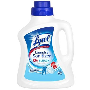 Lysol Laundry Sanitizer Crisp Linen