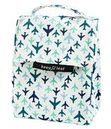 Keep Leaf Organic Cotton Lunch Bag Planes