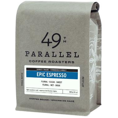 49th Parallel Coffee Epic Espresso Whole Bean