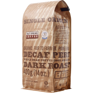 Salt Spring Coffee Decaf Peru