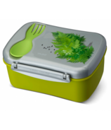 Carl Oscar Wisdom N'ice Box Lunch Box with Cooling Pack Nature