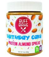Buff Bake Almond Butter Spread Birthday Cake