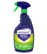 Microban 24 Hour Multi-Purpose Cleaner and Disinfectant Spray Fresh Scent