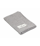 The Organic Company Kitchen and Wash Cloth Light Grey Pique