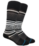 Dr. Segal's Compression Socks Black Stripe