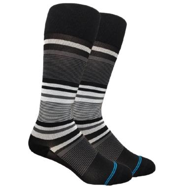 Dr. Segal\'s Compression Socks Black Stripe
