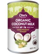 Cha's Organics Lemongrass Ginger Coconut Milk
