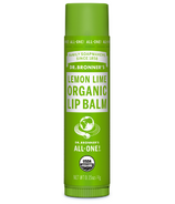 Dr. Bronner's Magic Organic Lip Balm Lemon Lime