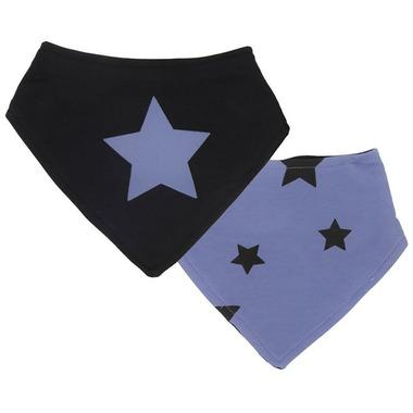 Kushies Bandana Bib Blue Star