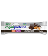 Genuine Health Fermented Vegan Proteins+ Bars Dark Chocolate Almond