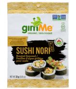 Algues grillées Sushi Nori de gimMe Organic