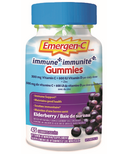 Emergen-C Immune+ Vitamin C & Mineral Supplement Gummies Elderberry