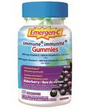 Emergen-C Immune+ Vitamin C & Mineral Supplement Gummies Elderberry