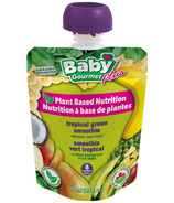 Baby Gourmet Organic Plant Based Tropical Greens Smoothie 8Months+