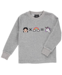 BIRDZ Children & Co. The Magic Is On! Crew Neck Velour Tee