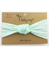 Baby Wisp Headband Turban Knot Mint 3M+