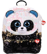 Ty Fashion Bamboo the Panda Sequin Backpack