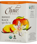 Choice Organic Teas Mango Black Tea