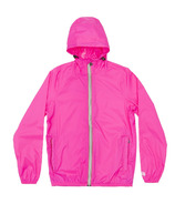 O8 Lifestyle Sloane Full Zip Packable Jacket Pink Fluo