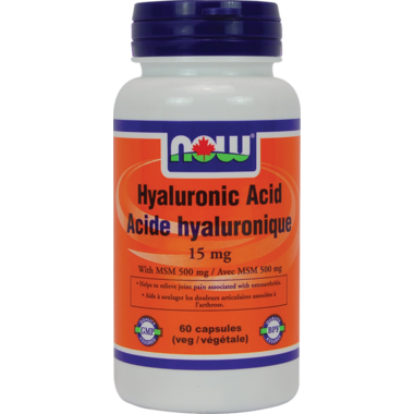 NOW Foods Hyaluronic Acid Veg Capsules