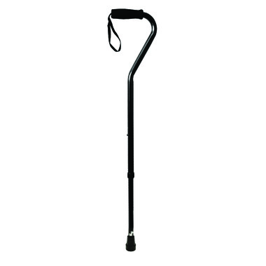 Bios Adjustable Cane with Offset Handle and Ice Pick