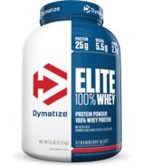 Dymatize Nutrition Elite Whey Protein Strawberry Blast 5 lbs
