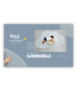 QUUT Head in the Clouds Small Playmat Dusty Blue