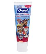 Orajel Toothpaste Paw Patrol Anticavity Flouride